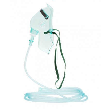 Oxygen Medium Concentration Mask with Tubing